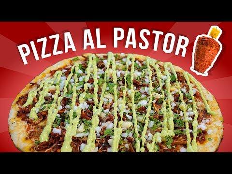PIZZA AL PASTOR HECHO EN CASA | PIZZAS LOCAS | EL GUZII
