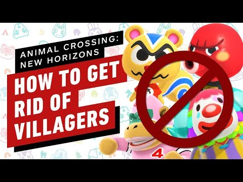 How To Get Rid Of Villagers In Animal Crossing: New Horizons
