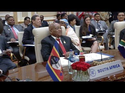 President Jacob Zuma concludes visit to Swaziland on SADC Extra-Ordinary Summit