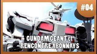 Vlog Japon #4 -  Gundam géant et rencontre abonnés