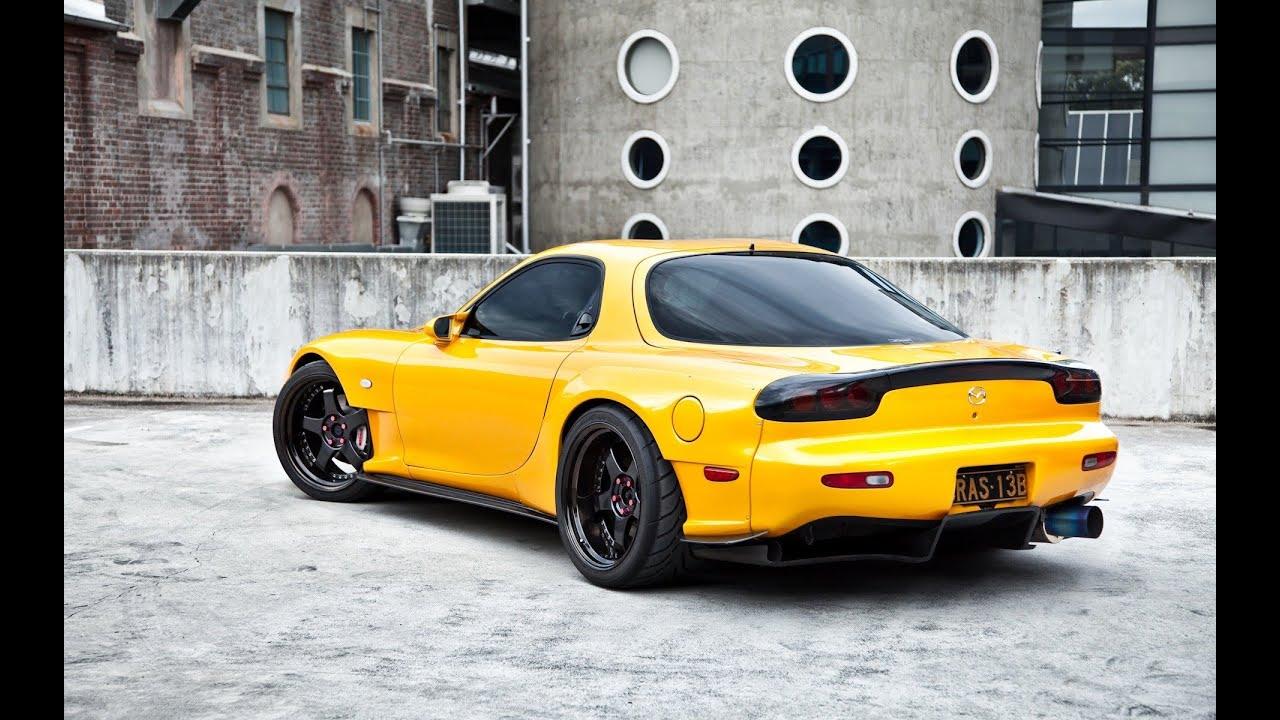 Mazda Rx7 Fd >> Mazda RX7 blow off exhaust sound - YouTube