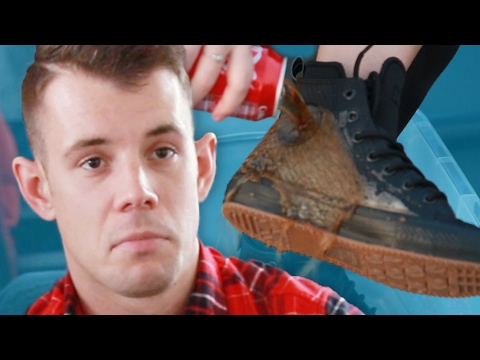 People Try Waterproof Converse Sneakers