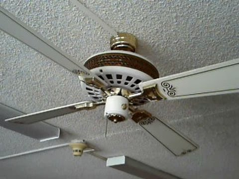 Ceiling fan special 3 nutone veranda deluxes youtube aloadofball Images