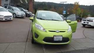 2011 Ford Fiesta, Lime Squeeze Metallic - Stock# 14-1121a