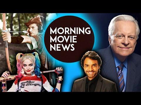 """Margot Robbie Robin Hood movie """"Marian"""", Eugenio Derbez Overboard Remake, Robert Osborne Dies"""