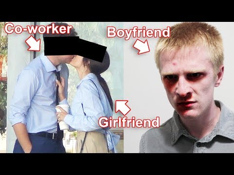 Girlfriend Cheating with CoWorker! Psycho Boyfriend Watches!   To Catch a Cheater