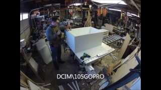 Melamine Snake Rack Building - Time Lapse With Gopro Hero2