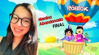 ROBLOX-The ABANDONED GIRL Novelinha Final (Adopt Me) | Luluca Games