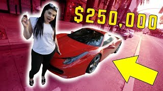 WE GOT A FERRARI!! *$250,000 DREAM CAR*