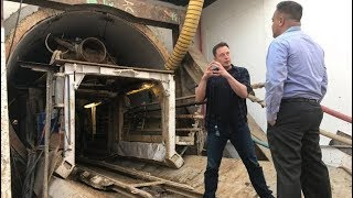 Elon Musk shows off Boring Company's 'disturbingly long' tunnel beneath LA