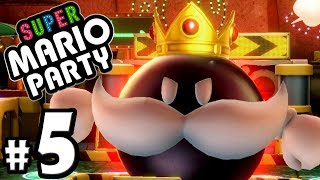 Super Mario Party - 2 Player Nintendo Switch Gameplay Walkthrough PART 5: Peach's Bob-omb Buddy