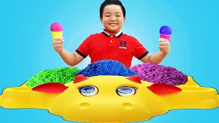 Alex Pretend Play with Beach Sand & Kinetic Sand Toys for Kids