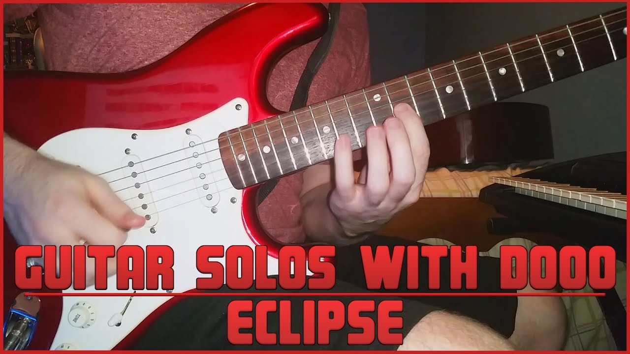Guitar Solos With Dooo Eclipse YouTube - Musical history guitar solo