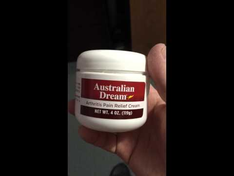 Australian dream cream for arthritis REVIEW