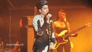 ADAM LAMBERT ~ Trespassing, Kickin