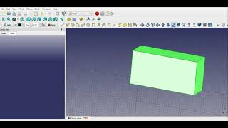 #freecad Freecad 0.17 how to scale an object