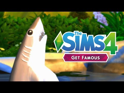 SHARK ATTACK - The Sims 4: Get Famous | Episode 25 thumbnail