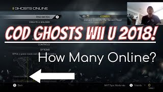 Call of Duty: Ghosts Wii U Gameplay in 2018 - How Many Playing? Worth Buying? CoD WiiU Gameplay