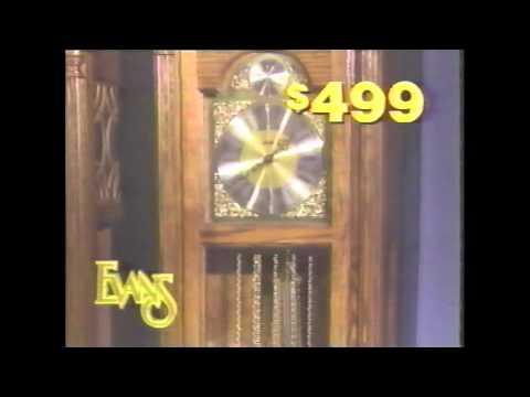 Evans Furniture Commercial   1989