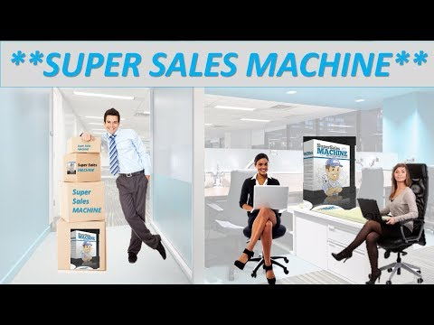 """Super Sales Machine-""""""""Making Sales!**"""