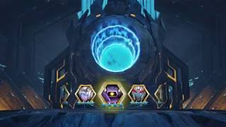 transformers forged to fight crystal opening (3 star and 4 star and my very first 5 star)