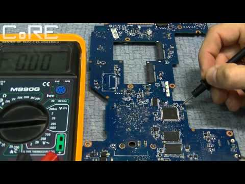 Интересный ремонт залитого ноутбука Lenovo