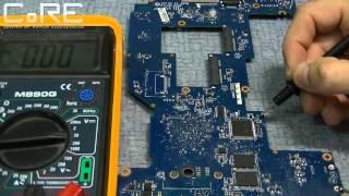 Интересный ремонт залитого ноутбука Lenovo(В видео показан ремонт ноутбука леново, который был залит посторонней жидкостью, после чего он перестал..., 2014-11-13T12:45:06.000Z)