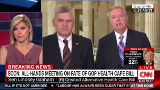 Sen Lindsey Graham & Sen Bill Cassidy explains alternative Health Care Bill