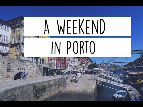 {TRAVEL VLOG} A weekend in Porto | A Rosie Outlook
