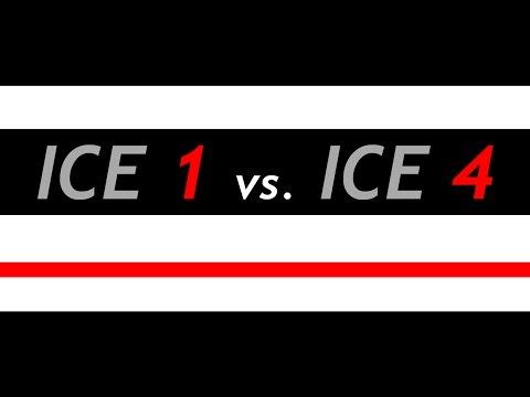 ICE 1 vs. ICE 4 in Körle (4K)