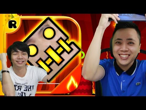 Geometry Dash Meltdown - Tetep CUPU - IOS Android Gameplay Indonesia