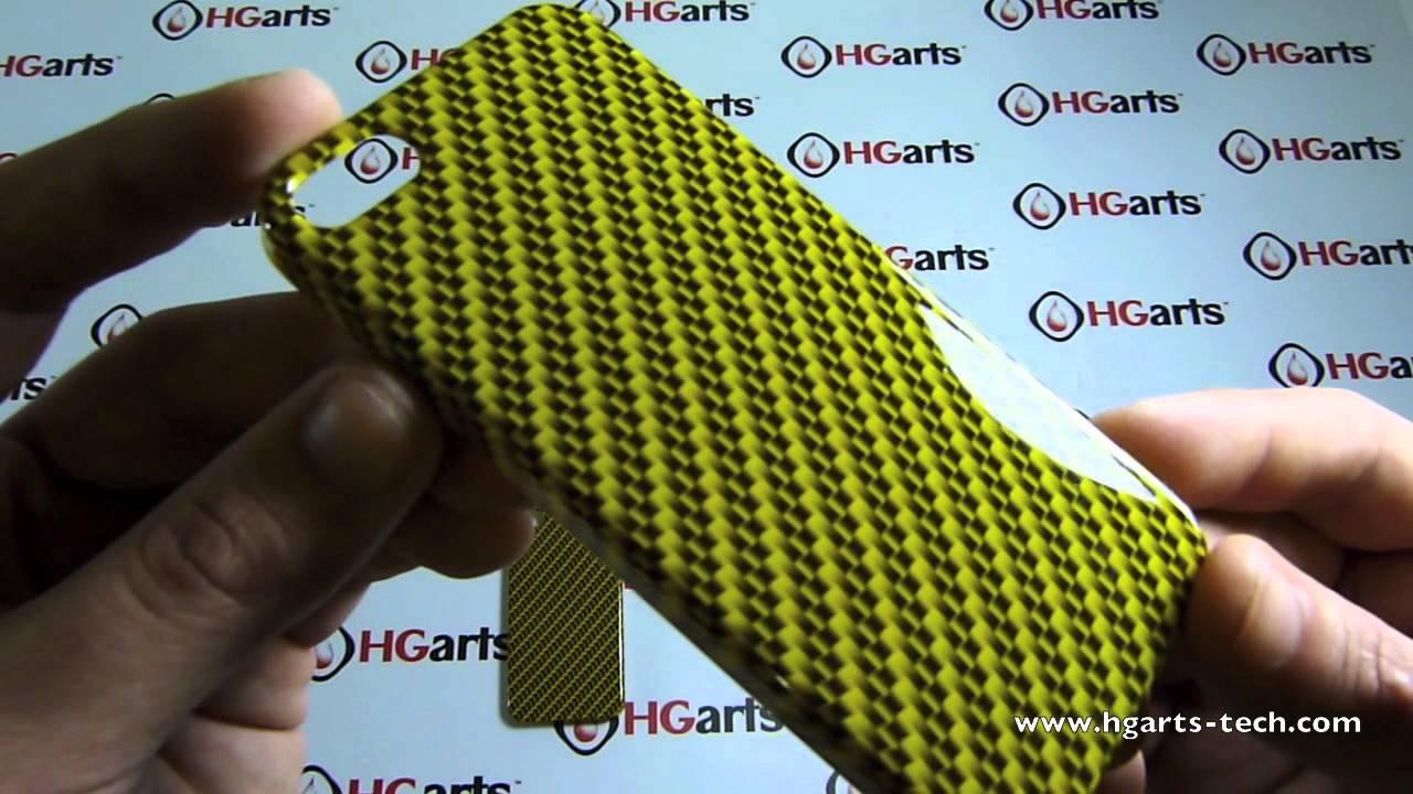 Wtp Iphone Cases Yellow Carbon Fiber Hg Arts Tech