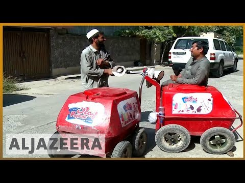 🇦🇫 Business freezes for Kabul ice-cream carts after unrest | Al Jazeera English