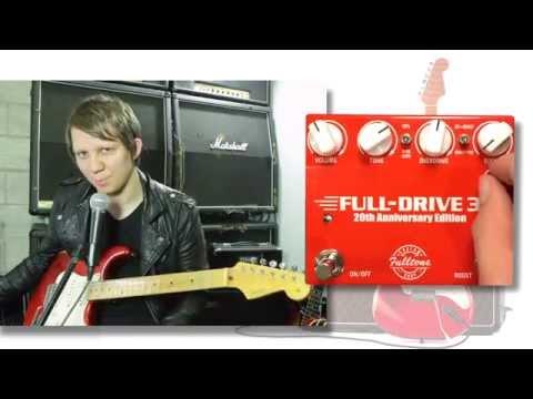 Fulltone Fulldrive 3 20th Aniversary Edition на Русском