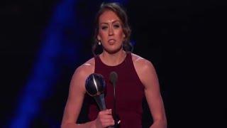 ESPYS 2016 - Breanna Stewart Wins Best Female Athlete