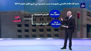 تراجع صافي الاستثمار الأجنبي في بورصة عمان  - (4-4-2019)