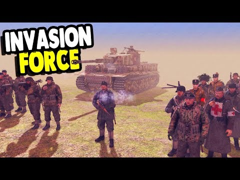 GLORIOUS DEFENSE OF THE MOTHERLAND - INVASION FORCE | Men of War: Assault Squad 2 Gameplay