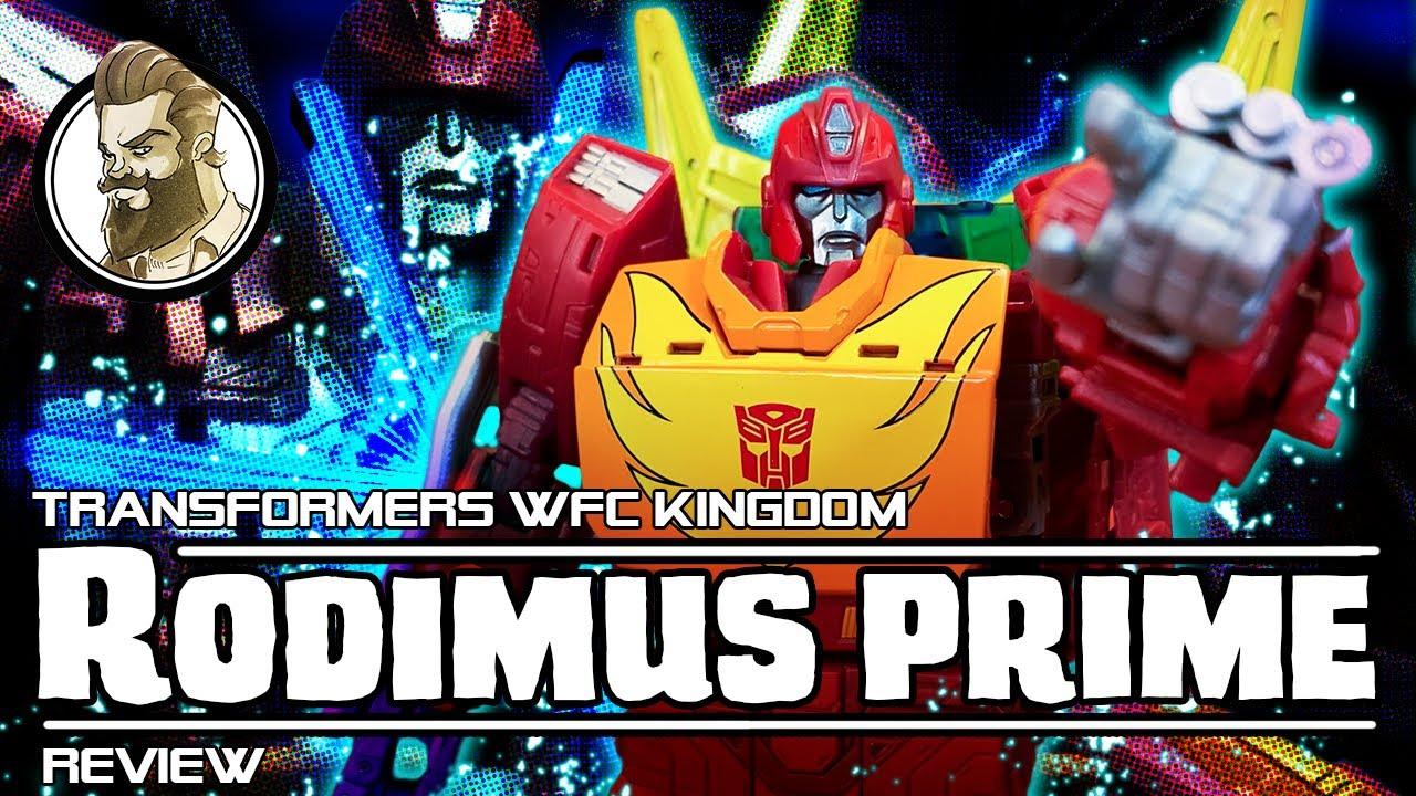 Ham-Man Reviews WFC Kingdom Rodimus Prime - Till all are One!