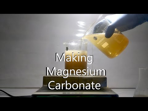 Making Magnesium Carbonate | HINDI |