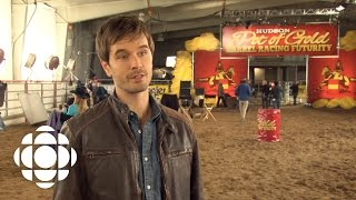 One day behind-the-scenes in making Heartland