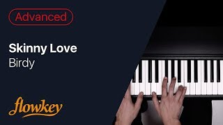 Skinny Love – Birdy (Piano Cover)