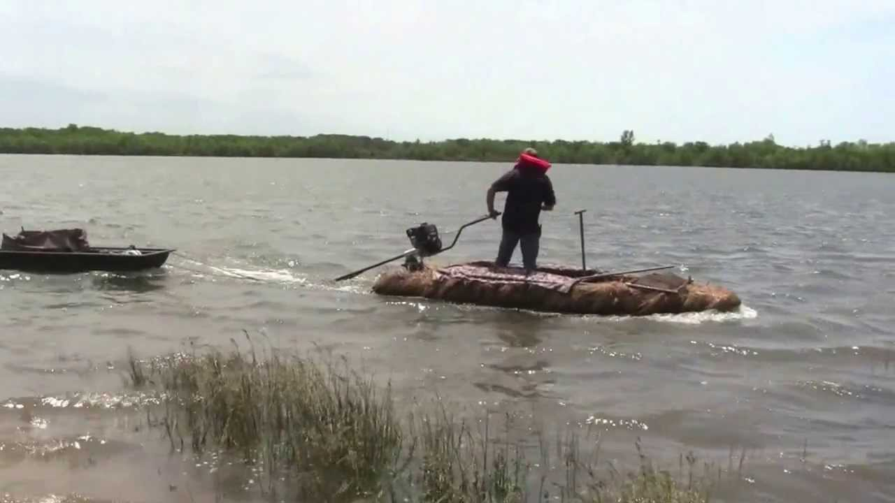 Four Rivers Decoy Sled In Action Youtube