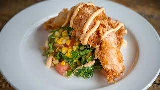 Fried Maine Lobster Salad