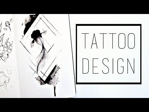 Designing A Tattoo · 30 Ways To Fill A Sketchbook · SemiSkimmedMin
