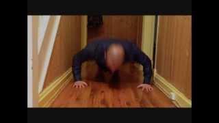 70 push ups in 43 seconds