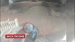 Насильник и убийца 10-летней девочки на камерах видеонаблюдения