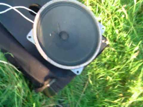 speaker blow lautsprecher abschiessen mit 240 watt. Black Bedroom Furniture Sets. Home Design Ideas