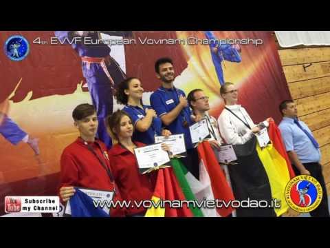 4th EVVF European Vovinam Championship - Tự Vệ Nữ Giới