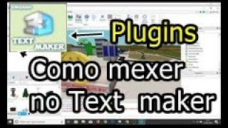 How to use the Plugins Text Maker \ Video Lesson 11 \ Roblox Studio \