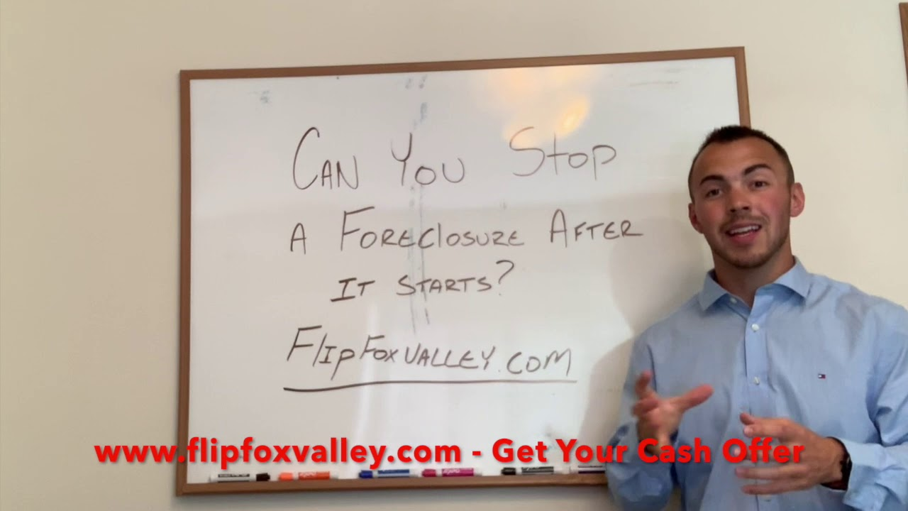 Can You Stop a Foreclosure After it Starts?